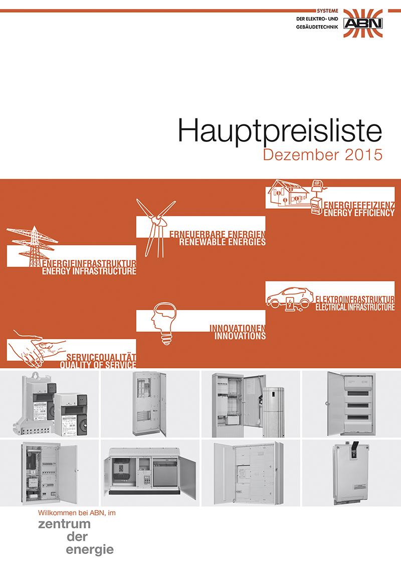 Katalog - Preisliste